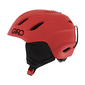 Зимний Шлем Giro 2017-18 NINE JR MATTE BRIGHT RED