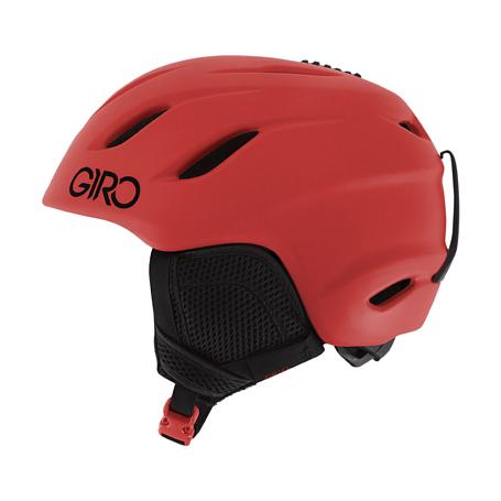 Купить Зимний Шлем Giro 2017-18 NINE JR MATTE BRIGHT RED, Шлемы для горных лыж/сноубордов, 1368344