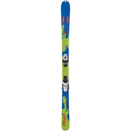 Купить Горные лыжи с креплениями HEAD 2010-11 iPEAK 88 FLR SW olive-lime + LD 12 WIDE white-matt black, лыжи, 701776