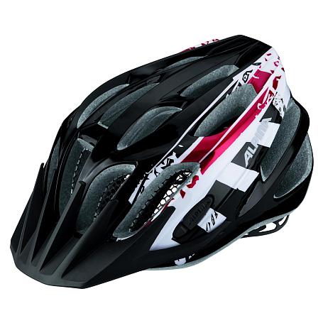 Купить Велошлем Alpina 2018 FB Jr. 2.0 black-white-red, Шлемы велосипедные, 1323621