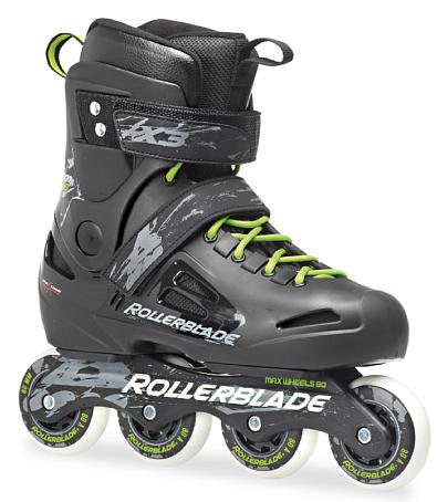 Купить Роликовые коньки Rollerblade 2014 FUSION X3 BLACK/GREEN Ролики взрослые 1076043