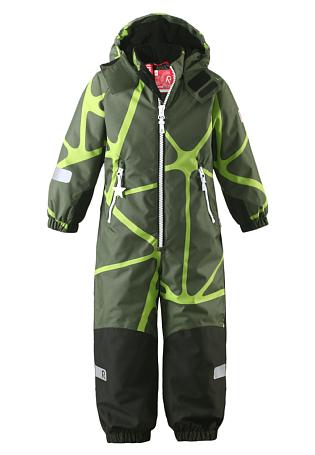 Купить Комбинезон горнолыжный Reima 2016-17 KIDDO KIDE ЗЕЛЕНЫЙ Детская одежда 1269727