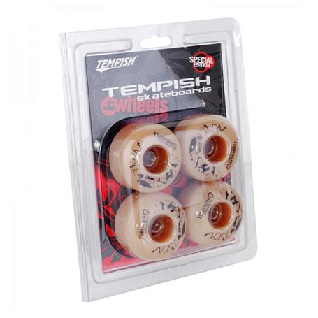 Купить Колеса (4 штуки) для скейтборда TEMPISH PU 92A 54x36 mm (4pcs) beige, Аксессуары лонгбордов/скейтбордов, 1256309