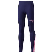 Тайтсы беговые Mizuno 2019-20 Vortex Warmalite long tight (W) Astral Aura
