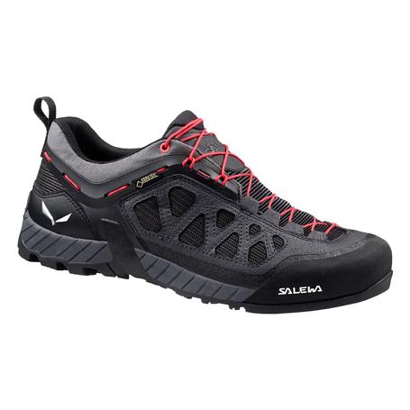 Купить Ботинки для треккинга (низкие) Salewa 2017 WS FIRETAIL 3 GTX Black Out/Hot Coral, Треккинговая обувь, 1240718