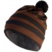 Шапка Helt-Pro Mascot Stripe Black Brown