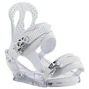 Сноуборд крепленияСноуборд крепления<br>Начало вашего катания должно начаться именно с этой модели. Лаконичные и легкие - это лучший выбор для новичка.База: поликарбонат, амортизация: FullBED, система крепления: Re:Flex<br><br>Пол: Женский<br>Возраст: Взрослый