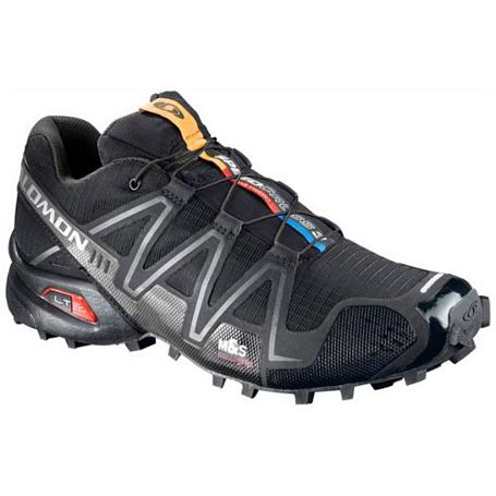 Купить Беговые кроссовки для XC SALOMON 2014 Speedcross 3 BLACK/BLACK/SILVM Кроссовки бега 901562