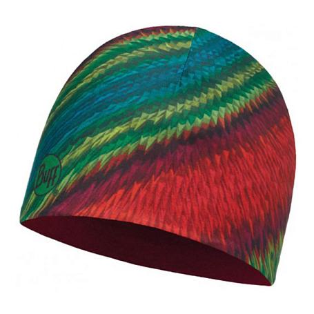 Купить Шапка BUFF MICROFIBER REVERSIBLE HAT EIKO MULTI - RED Банданы и шарфы Buff ® 1263566
