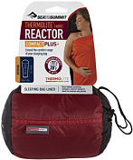 Вкладыш в спальник Sea To Summit Reactor Plus (Compact) - Thermolite® Mummy Liner Red Sack/Black & Red Liner