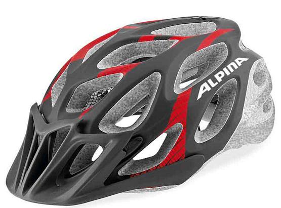 Купить Летний шлем Alpina SMU SOMO THUNDER red-black, Шлемы велосипедные, 1180195