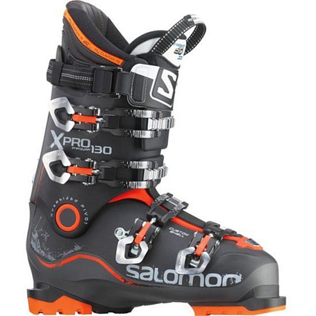 Горнолыжные ботинки SALOMON 2014-15 All-Mount. Frontside X Pro 130 Anthracite/Black