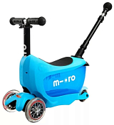 Самокат 3-колесный MICRO Mini2go Deluxe Plus Blue