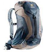 РюкзакРюкзаки универсальные<br>Deuter AC Lite 14 - эти спортивные, яркие рюкзаки для однодневных походов выпускаются в модной цветовой гамме, красивой формы и компактных размеров-стильные и функциональные. Плавные обводы и компактная форма остались неизменными.<br><br>Особенности: <br>- система Aircomfort Advanced; <br>- анатомические мягкие плечевые лямки обшитые сетчатой тканью 3D AirMesh; <br>- карман в верхнем клапане; <br>- карман для мелких вещей на молнии; <br>- удобная застёжка с одной пряжкой; <br>- отражатель 3M; <br>- петли для телескопических палок; <br>- боковые сетчатые карманы; <br>- совместимость с системой снабжение питьевой водой; <br>- встроенные съёмный чехол от дождя.<br><br>Материал: Microrip-Nylon/Ripstop 210.<br><br>Рюкзак для пеших прогулок &amp;nbsp;&amp;nbsp;&amp;nbsp;&amp;nbsp;<br>Цвет: magenta-blackberry; black-stone<br>Вес &amp;#40;кг.&amp;#41;: 0.86<br>Объем &amp;#40;л&amp;#41;: 14<br>Размеры &amp;#40;см.&amp;#41;: 50х30х18