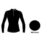 Футболка с длинным рукавом ACCAPI TECNOSOFT LONGSL.T-SHIRTWITH40575ZIPUNISEX black (черный)