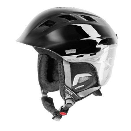 Купить Зимний Шлем UVEX Comanche 2 Black/White, Шлемы для горных лыж/сноубордов, 847593