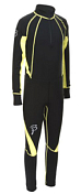 Комплект беговой Bjorn Daehlie Race suit CHARGER Junior Black (черный)