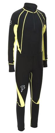 Купить Комплект беговой Bjorn Daehlie Race suit CHARGER Junior Black (черный) Одежда лыжная 775909