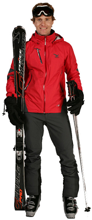Куртка туристическая Salewa Alpine Active WESTRAY PTX-PRL M JKT red\1700\0780 (красный)