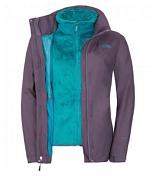 Куртка туристическая THE NORTH FACE 2014-15 Outdoor W STRATOSPHERE TRI GRYSTN/FFGREEN