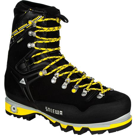 Купить Ботинки для альпинизма Salewa Pro Mens MS PRO GUIDE (M) Black - yellow, Альпинистская обувь, 896320