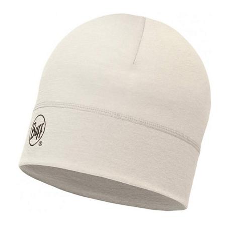Купить Шапка BUFF WOOL MERINO 1 LAYER HAT SOLID SNOW, Аксессуары Buff ®, 1263604