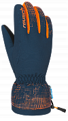 Перчатки горные REUSCH 2017-18 Reusch Xaver R-Tex XT Junior dress blue / orange popsic