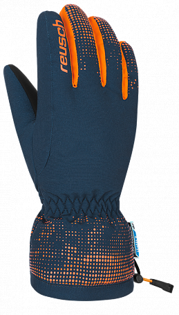 Купить Перчатки горные REUSCH 2017-18 Reusch Xaver R-Tex XT Junior dress blue / orange popsic, Перчатки, варежки, 1373864