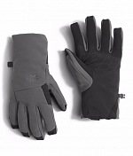 Перчатки Горные The North Face 2016-17 M Apex+ Etip Glove Asphalt Grey