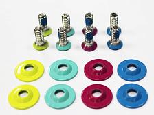 Болты для крепленийИнструмент<br>Набор болтов с шайбами для прикручивания креплений к сноуборду.