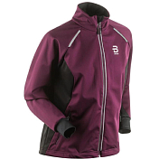 Куртка беговая Bjorn Daehlie 2016-17 Jacket TOUR Wmn Potent Purple