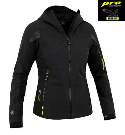 Куртка туристическая Salewa Alpine Extreme Pro GEIERWALLY SW W JACKET black/0900/acc.2450