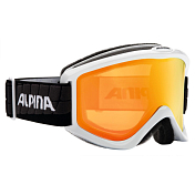 Очки горнолыжные Alpina SMASH 2.0 R  MM white-black  MM Orange S2 / MM Orange S2