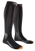 НоскиНоски<br>Мотоциклетные носки X-Socks® Moto Energizer обладают высокой износостойкостью несмотря на облегчённую и тонкую структуру ткани. Максимальная защита голени: система Shin Protector предохраняет надкостницу, Side Protector – защитит боковые зоны, а технология Calf Protector служит для защиты и поддержки икроножных мышц.<br><br>Х-образная система X-Cross® Bandage стабилизирует работу голеностопного сустава. Трёхканальная системавоздушной вентиляции подошвы Traverse AirFlow Channel System эффективно выводит лишнюю влагу и тепло через специальные каналы AirConditioning Channel® даже из плотно облегающей стопу обуви, обеспечивая постоянный доступ свежего воздуха в ботинок и поддерживая нормальный температурный режим.<br><br>Многоцелевая ткань Robur™ состоит из полых волокон с герметичной воздушной камерой. Ткань дышащая и эластичный. Защищает от ударных нагрузок и давления. Применяется в зонах, особо подверженных образованию потёртостей и ссадин - ахиллово сухожилие, подошва, голеностопный сустав, голень. Ткань Robur™, сотканная из трёхжильной плетёной нити, чрезвычайно прочная и износостойкая.<br><br>Mythlan™ - ультралёгкий, дышащий материал с микроволокнистой структурой. Легчайший среди высокотехнологичных материалов. Ткань Mythlan™ не накапливает влагу и способствует эффективному процессу её испарения с внешней поверхности. Имеет нейтральное значение pH и гипоаллергенна.