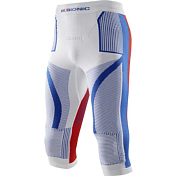 Брюки X-bionic 2016-17 Ski Man Patriot Acc_evo UW Pants Medium T028 / Белый