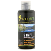 Пропитка GRANGERS 2009 CLOTHING 2 in 1 2 in 1 Cleaner & Proofer 60ml Bottle