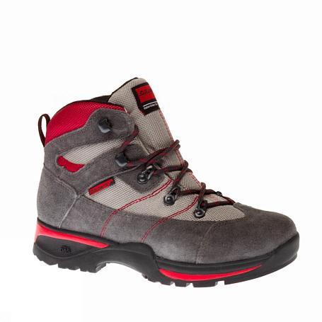 Купить Ботинки для треккинга (высокие) Dolomite Junior FLASH PLUS GREY-RED, Треккинговые ботинки, 1146097