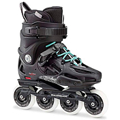 Роликовые коньки Rollerblade 2017 Twister 80 W Black/Light Blue