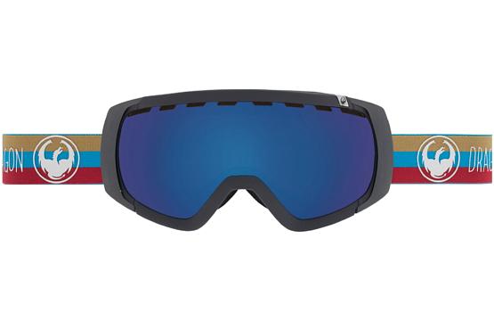 Купить Очки горнолыжные DRAGON 2015-16 ROGUE Layer / Dark Smoke Blue, Yellow Red Ion, горнолыжные, 1220923