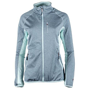 Флис для активного отдыха GTS 2018-19 DAMEN Bicolour Jacket Melange W steel