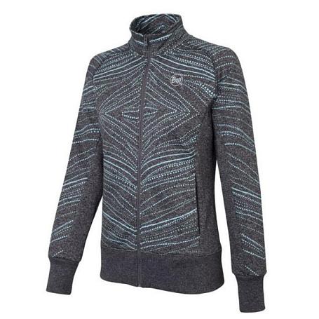 Купить Жакет для активного отдыха BUFF Khumbila (Jetblack) черный, Одежда туристическая, 808222