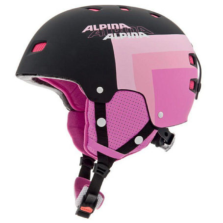 Купить Зимний Шлем Alpina PARK PRO purple matt, Шлемы для горных лыж/сноубордов, 1131222