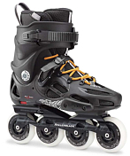 Роликовые коньки Rollerblade 2017 Twister 80 Black/Orange