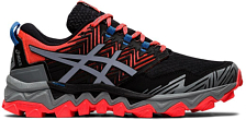 Беговые кроссовки элит Asics Gel-FujiTrabuco 8 Flash coral/sheet rock