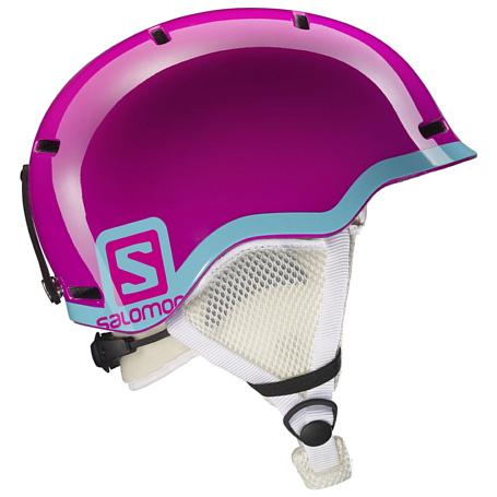 Купить Зимний Шлем SALOMON 2016-17 HELMET GROM FUSHIA POP/Blue, Шлемы для горных лыж/сноубордов, 1287382