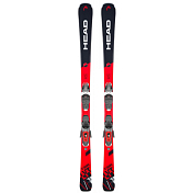 Горные лыжи с креплениями HEAD 2018-19 V-Shape V6 SW LYT PR+PR 11 GW BRAKE 90 [G] black/red
