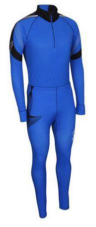 Купить Комплект беговой Bjorn Daehlie Race suit COMPETITION (Skydiver/Black) синий/черный, Одежда лыжная, 710203