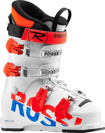 Купить Горнолыжные ботинки ROSSIGNOL 2017-18 HERO JR 65 WHITE Ботинки горнoлыжные 1363802