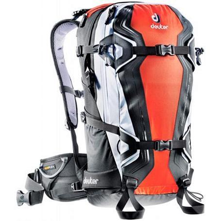 Купить Рюкзак Deuter 2015 Alpine Winter Freerider Pro 30 orange-white Рюкзаки для фрирайда 1073652