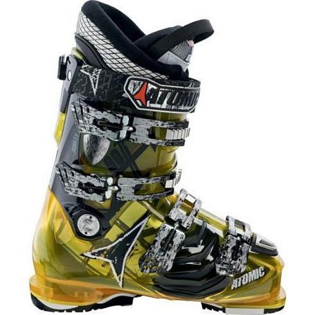 Купить Горнолыжные ботинки ATOMIC 2012-13 Hawx 90 YELLOW TRANSLUC Ботинки горнoлыжные 812560